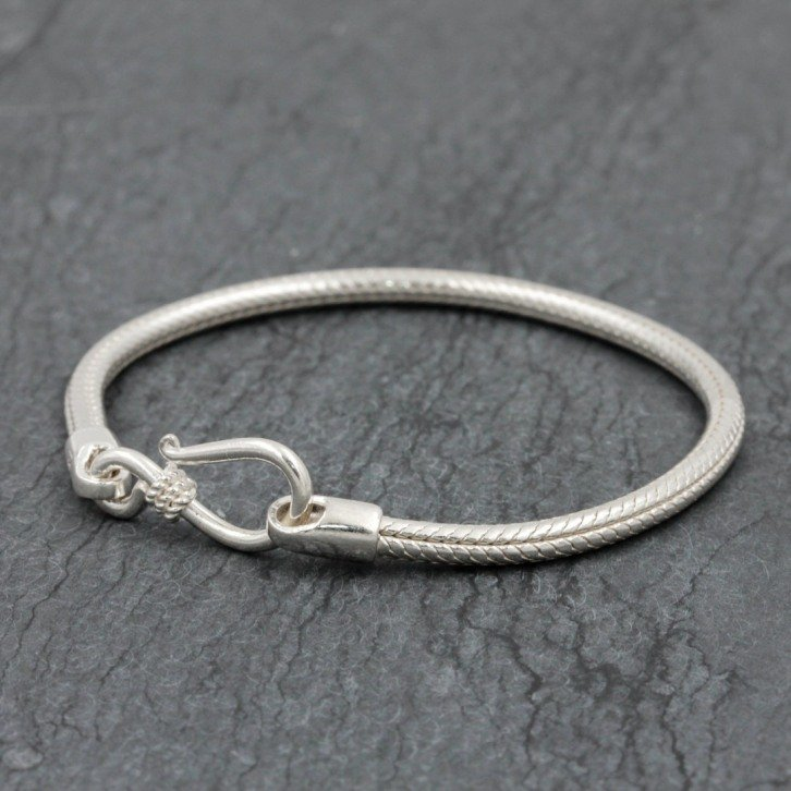Bracelet snake New rond 3mm