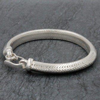 Bracelet Snake  Triangle 7mm