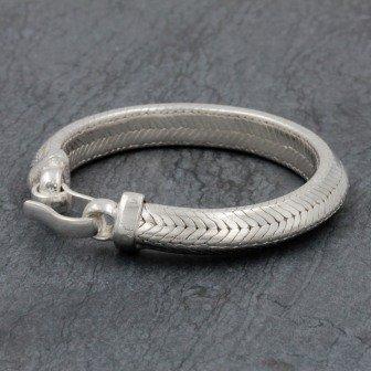 Bracelet Snake Triangle 9mm