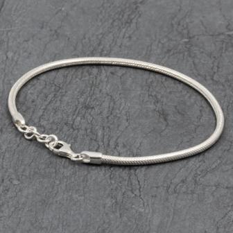 Bracelet de cheville rond 2,5mm