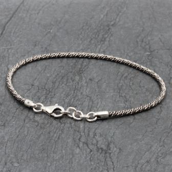 Bracelet de cheville vrille
