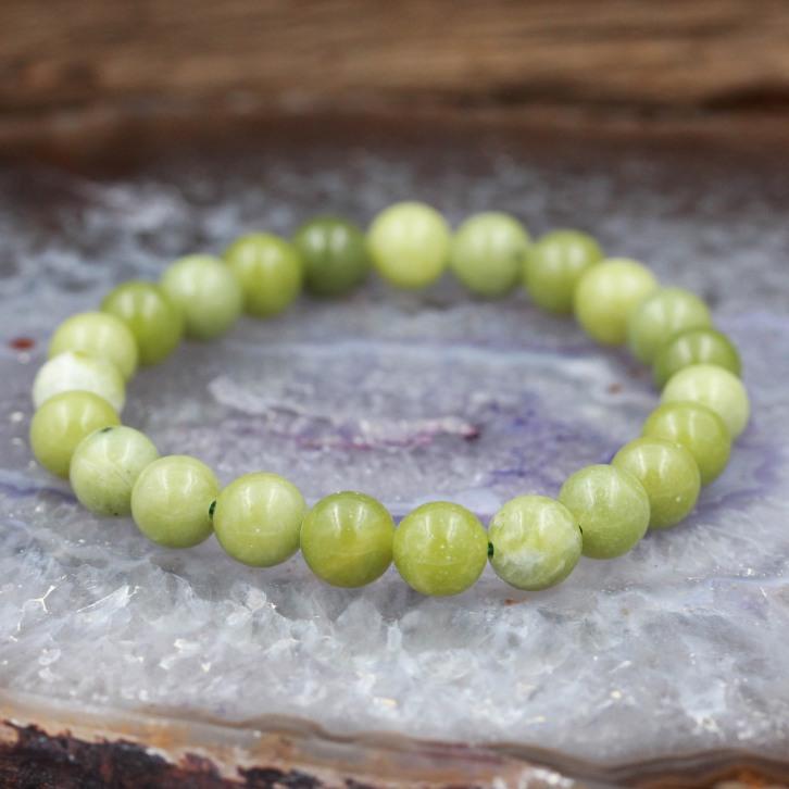 Bracelet pierre jade chinois