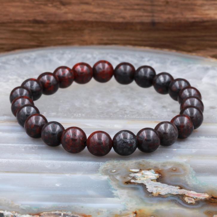 Bracelet pierre oeil de fer