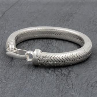 Bracelet Snake 1/2 Rond 9mm