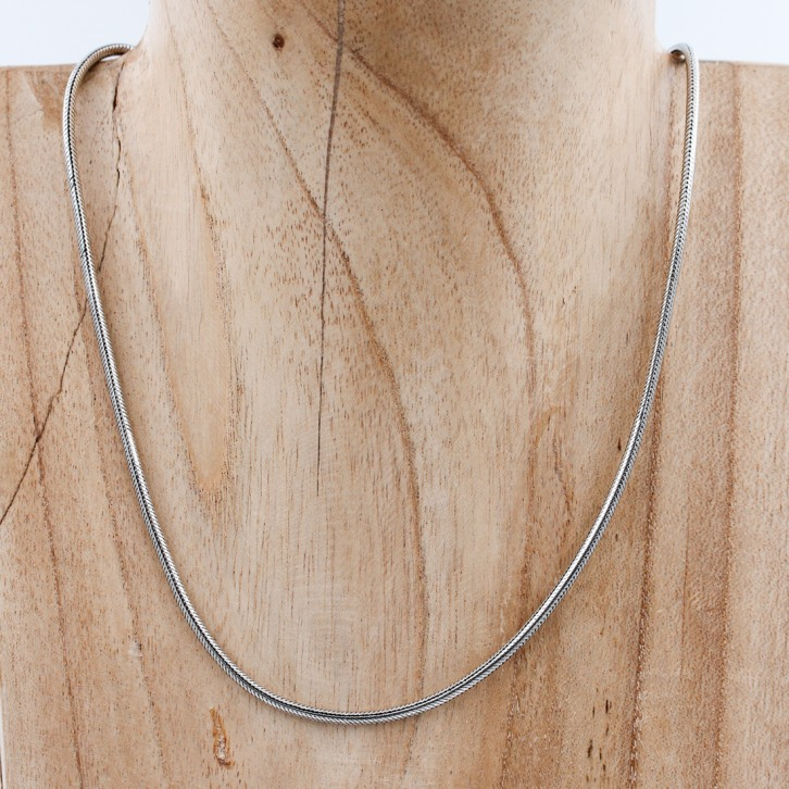 Collier snake rond 2,5mm